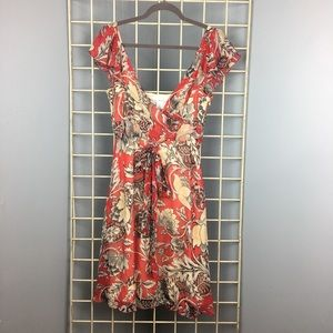 DIANE VON FURSTENBERG mariana silk printed dress